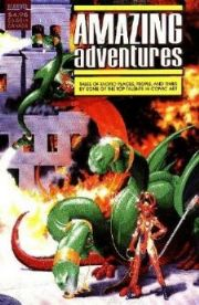 Amazing Adventures One Shot 1988 Marvel Comics Anthology